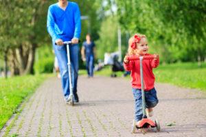 Løbehjul for børn og voksne