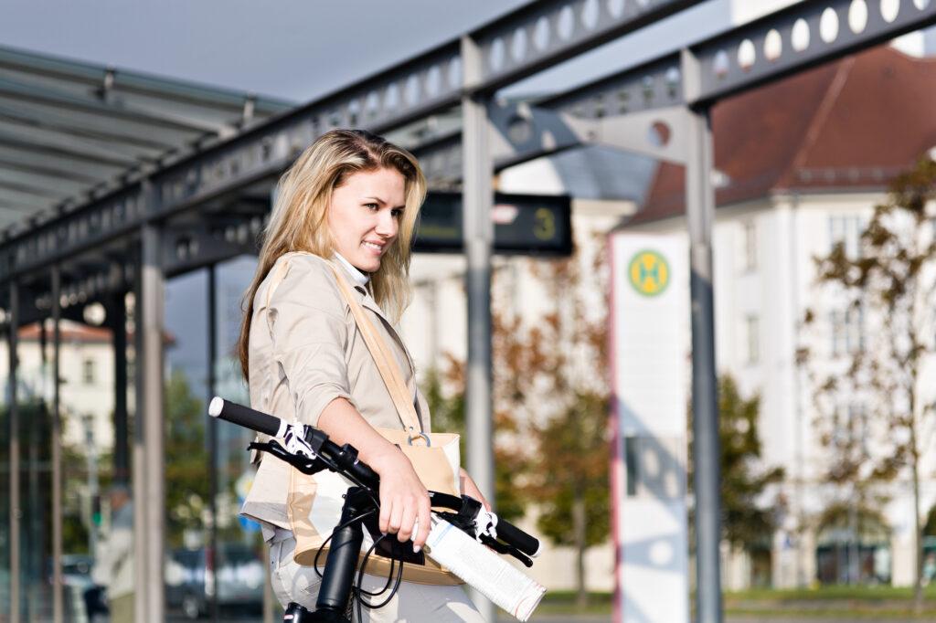 Cykel og offentlig transport