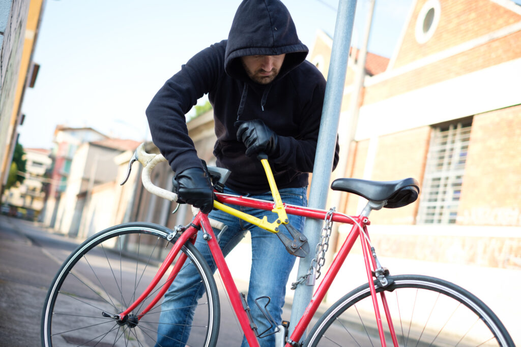 Stjålet cykel