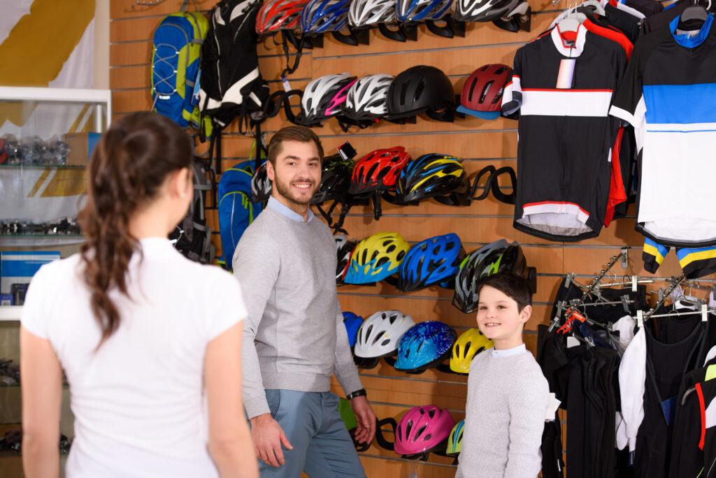 Forhandler af cykeludstyr