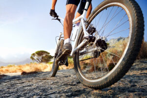 Velkørende cykel