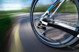 Cykel i bevægelse